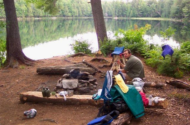 Algonquin Adventures August 2007 Access Point 4 Casey Lake